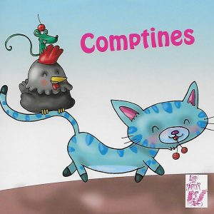 0025-1 COMPTINES (CD)