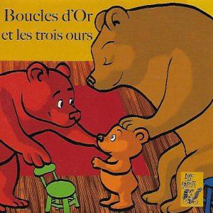 0037-1 BOUCLES D'OR ET LES TROIS OURS (CD)