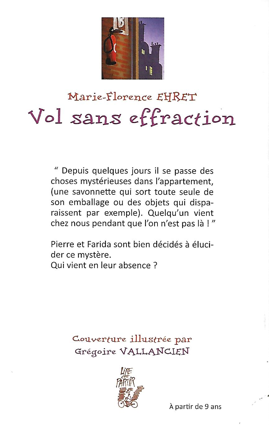 Vol Sans Effraction Appartement