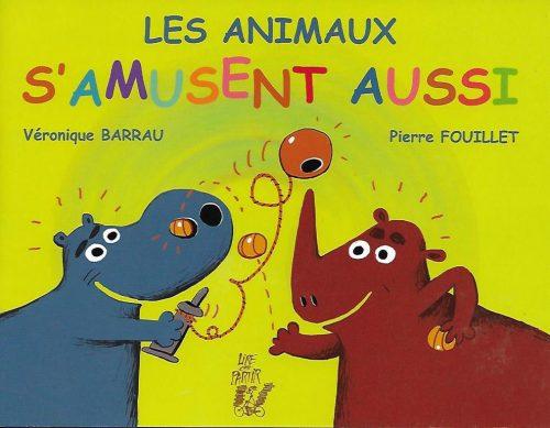 3016-COUV LES ANIMAUX S'AMUSENT AUSSI