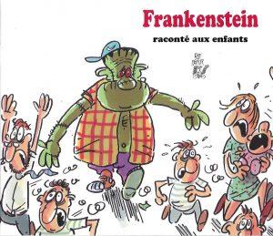 5050-COUV FRANKENSTEIN RACONTÉ AUX ENFANTS