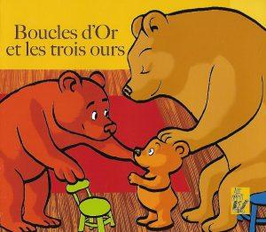 5080-COUV BOUCLES D'OR ET LES TROIS OURS