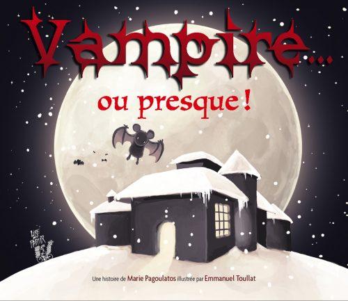 5093-COUV Vampire ou presque