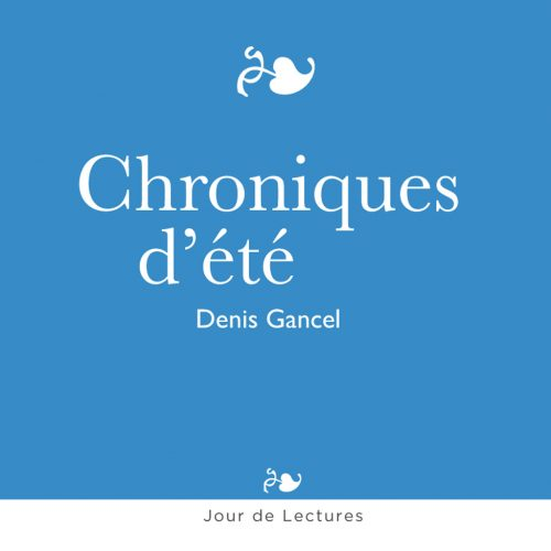 0049 - CD JOUR DE LECTURES GANCEL_CD