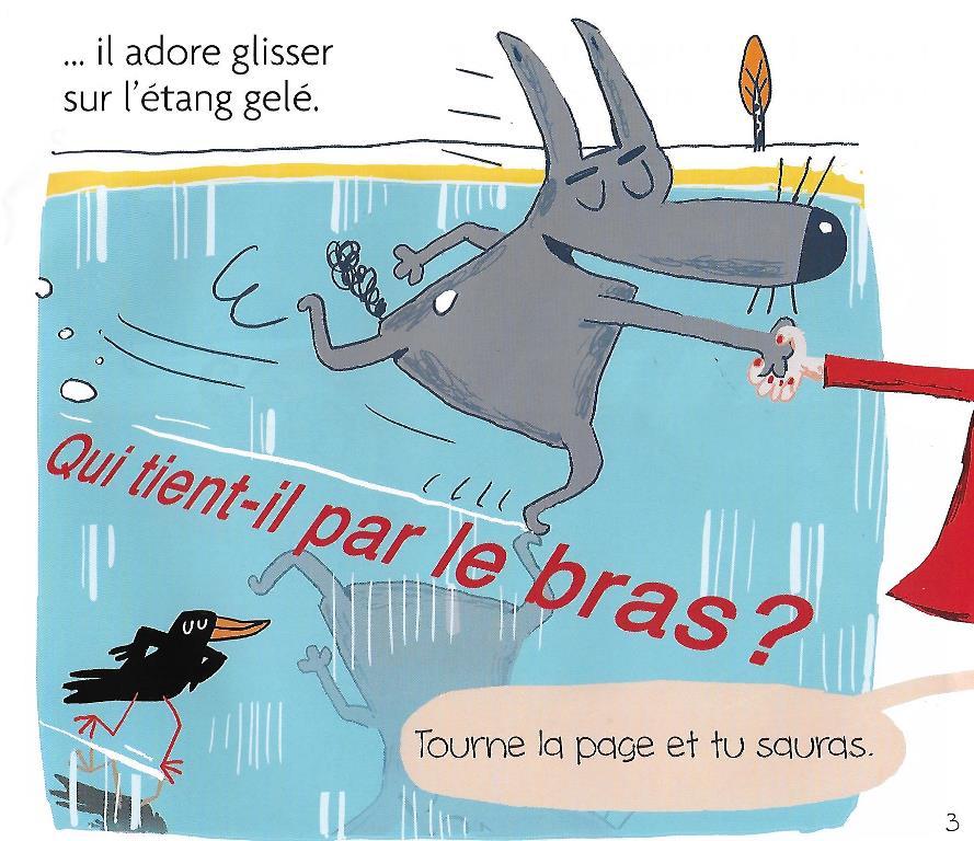 Petit Loup Sauve Noel Lire C Est Partir