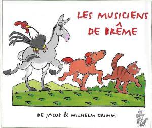 5014-COUV LES MUSICIENS DE BRÊME